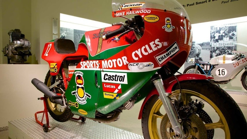 La NCR 900 de Mike Hailwood, 1978