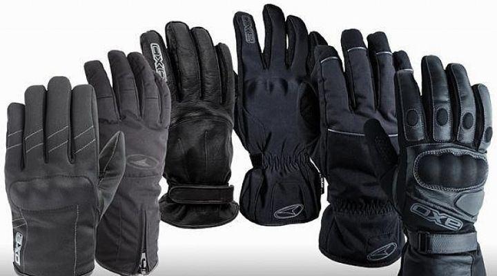 tipos de guantes para motos