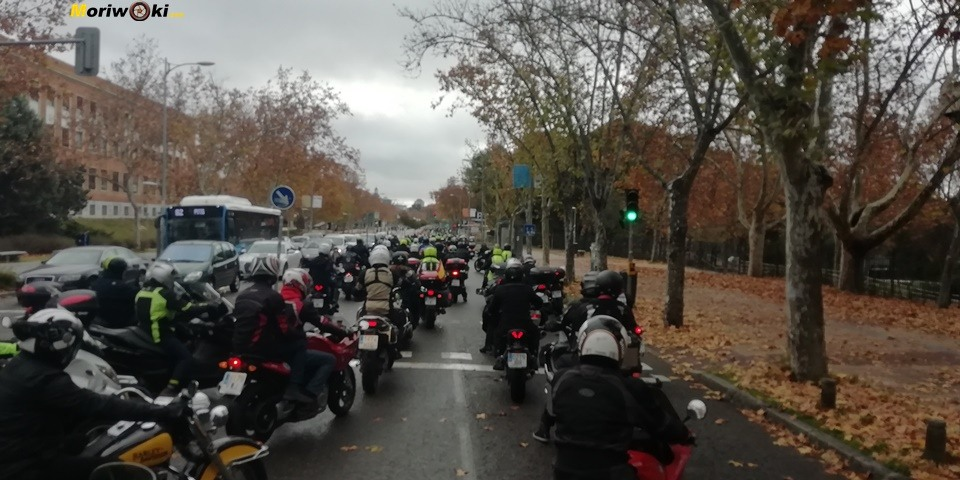 Madrid en moto Ciudad Universitaria