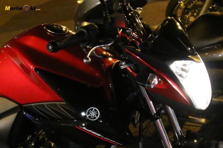 Yamaha YS125 faro encendido