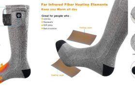 calcetines calefactables para moteros