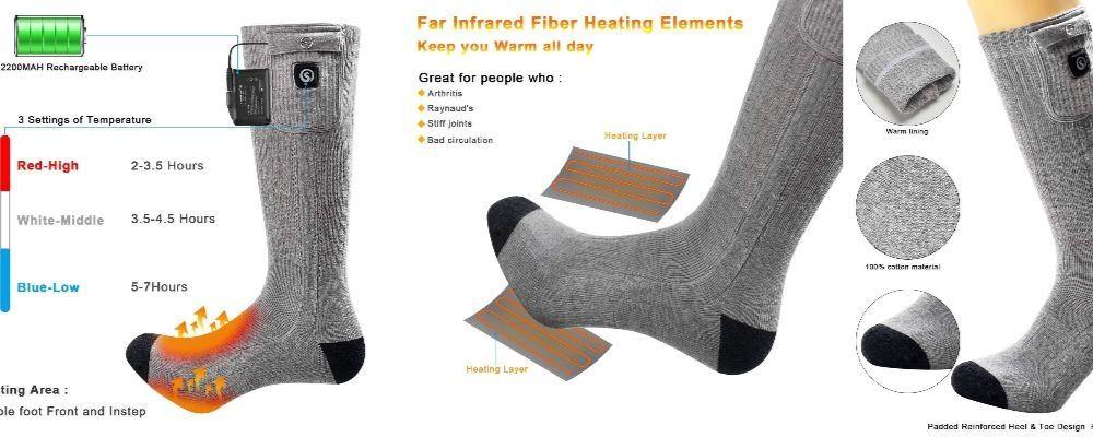Calcetines calefactables para moteros – ¡Conoce los mejores y aprende a elegir el tuyo!