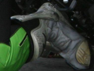 bota para reparar de moto