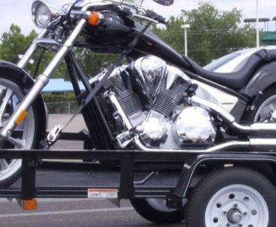 trailer para remolcar moto