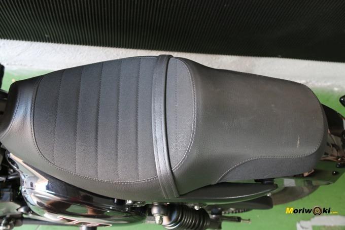 Hyosung Aquila GV 125S asiento