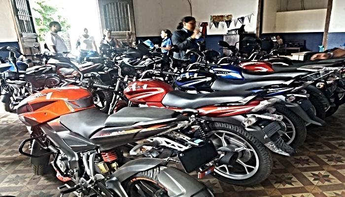 venta de motos de segunda mano en local
