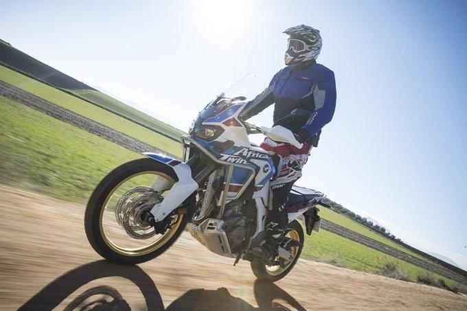 Ejemplo en nuestra prueba de la Honda Africa Twin Adventure