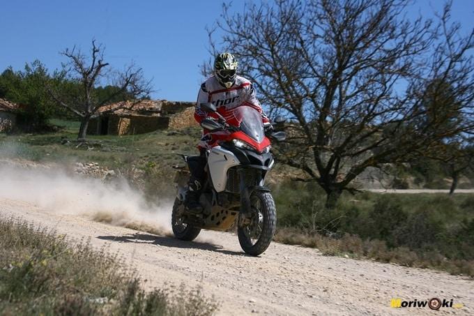 Ejemplo en nuestra prueba de la Ducati Multistrada 1200 Enduro