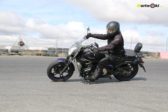 Hubo dos custom en el curso femenino de moto