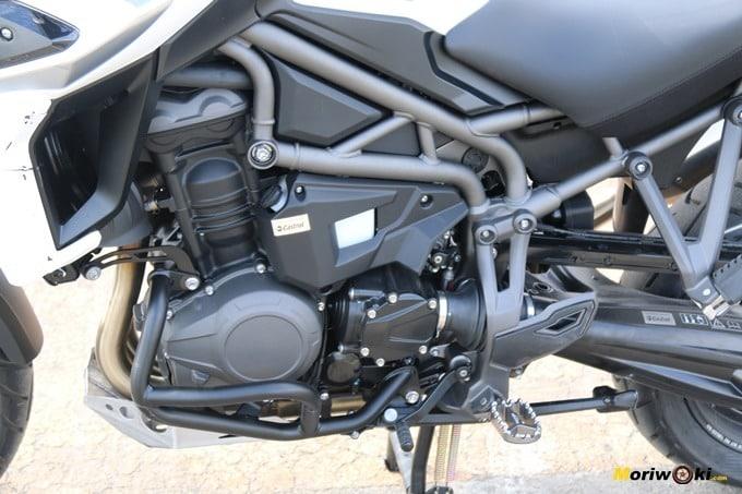 Tricilíndrico de la Triumph Tiger 1200 XCA