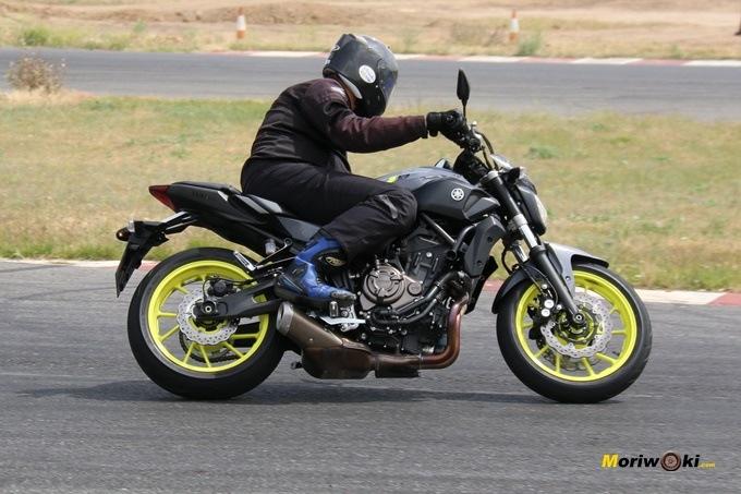 La Yamaha MT-07 en la selección de las mejore motos para el carné A-2.