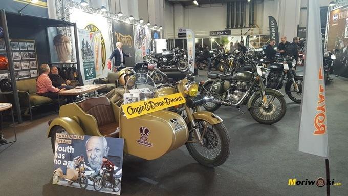 Royal Enfield en Vive la Moto Barcelona 2.019