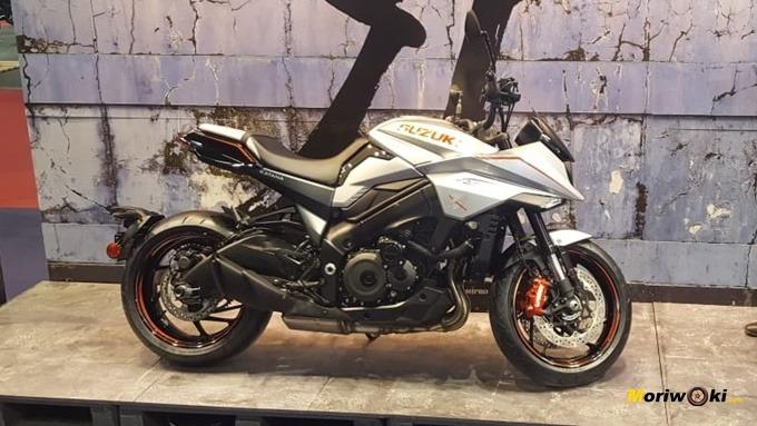 La Suzuki Katana en Vive la Moto de Barcelona