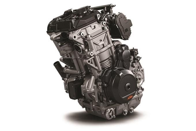 El motor LC8c de la KTM 790 Adventure R.