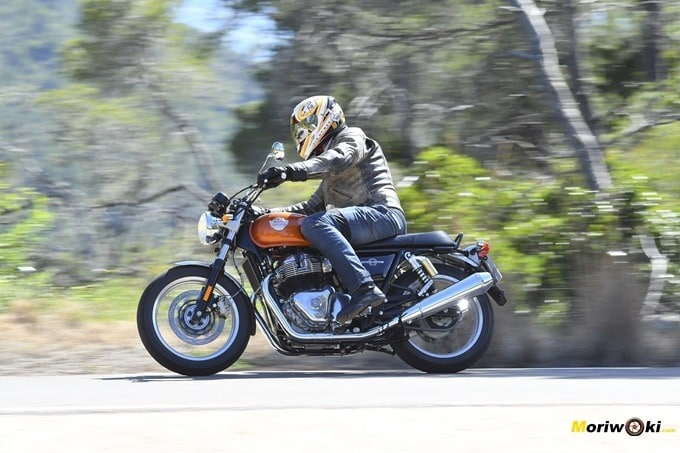 Probando la Royal Enfield Interceptor 650