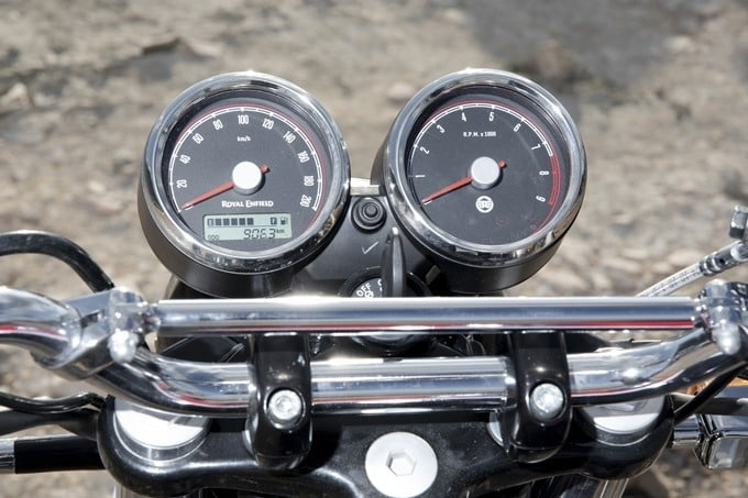 Relojes de la la Royal Enfield Interceptor 650