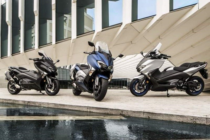 Las tres versiones de la Yamaha Tmax 530.