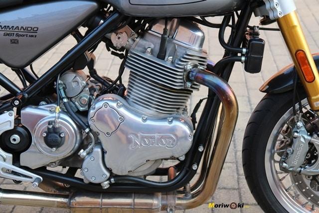 961 cc para la Norton Commando 961 Sport MK2.