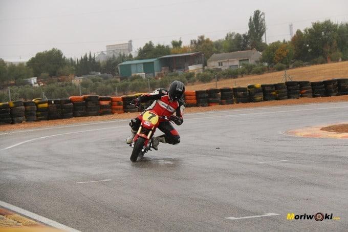 Parrilla de DR7. Circuitos Pit Bikes Zona Centro.