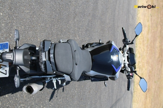 Ergonomía de la Yamaha MT-10 SP