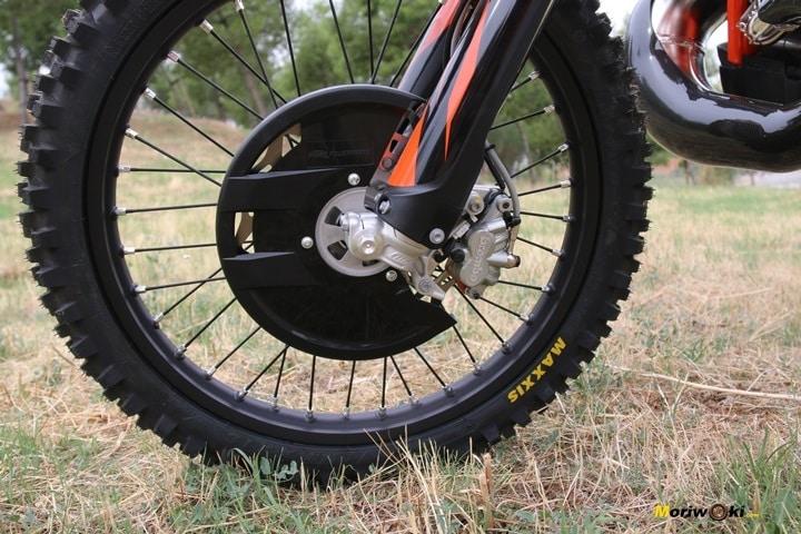 Objetivo Enduro +100, protector de disco de la KTM 300 EXC TPI.