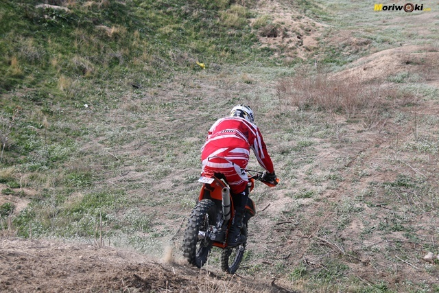 Descendiendo. Objetivo Enduro +100 IV