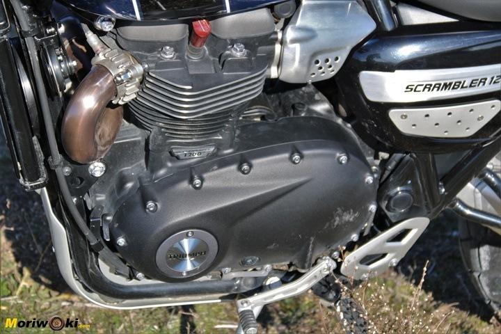 Prueba Triumph Scrambler 1200 XE. Bicilíndrico paralelo.