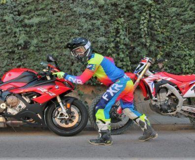 Del Motocross a la velocidad