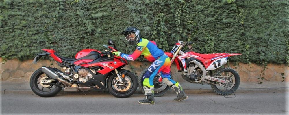 Del Motocross, directamente a la pista de Velocidad