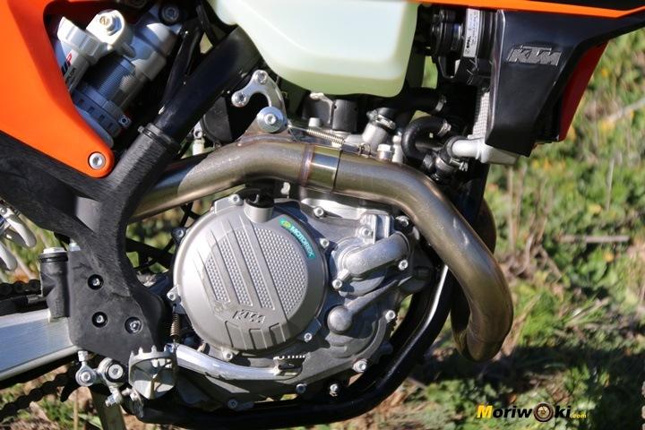 KTM EXC 450 F nuevo motor 2020.