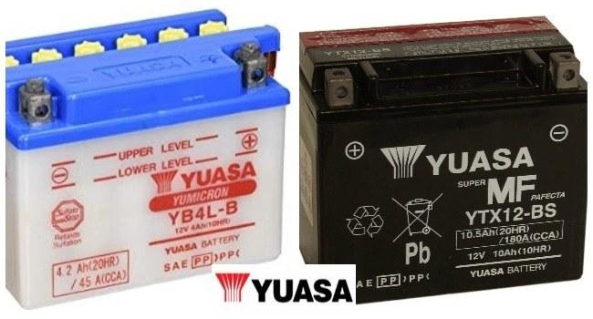mejores baterias para moto yuasa