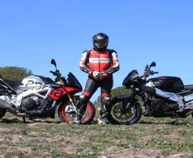 Con electronica y sin electronica en una moto