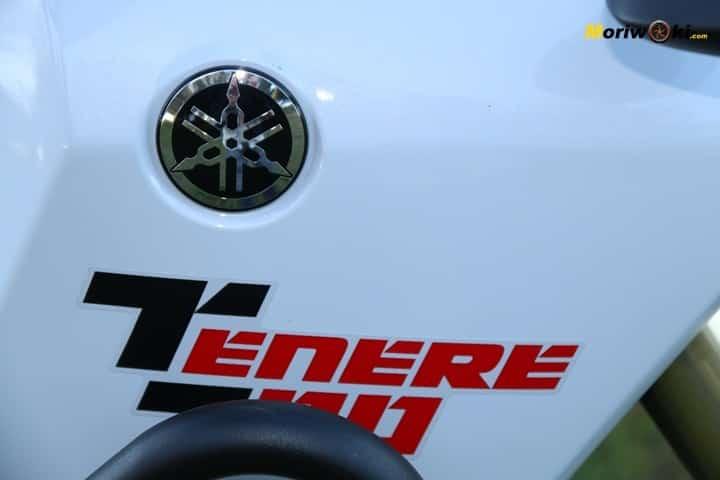 Yamaha Tenere 700. Emblema.