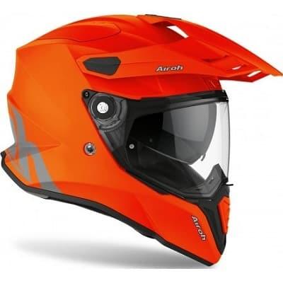 Los mejores cascos de moto naranja