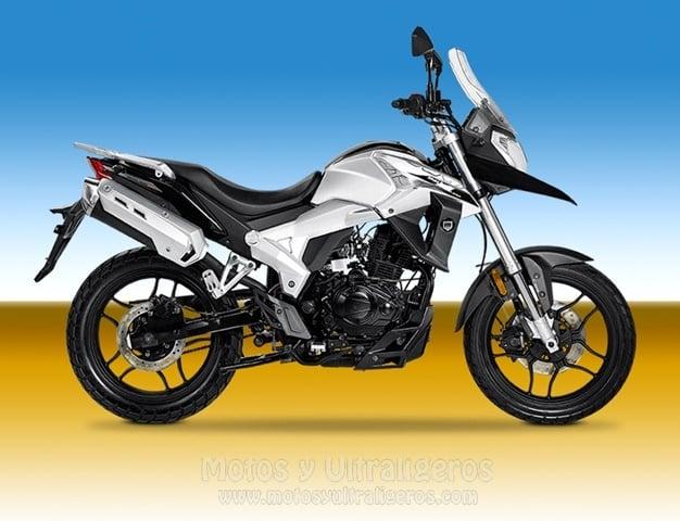 Mejores motos de 125. Macbor XR1 Montana