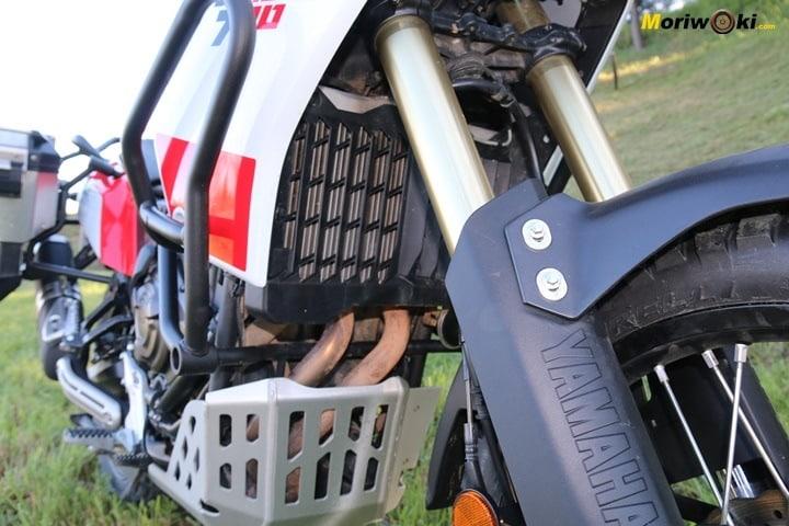 Prueba Yamaha Tenere 700. Asi es el radiador