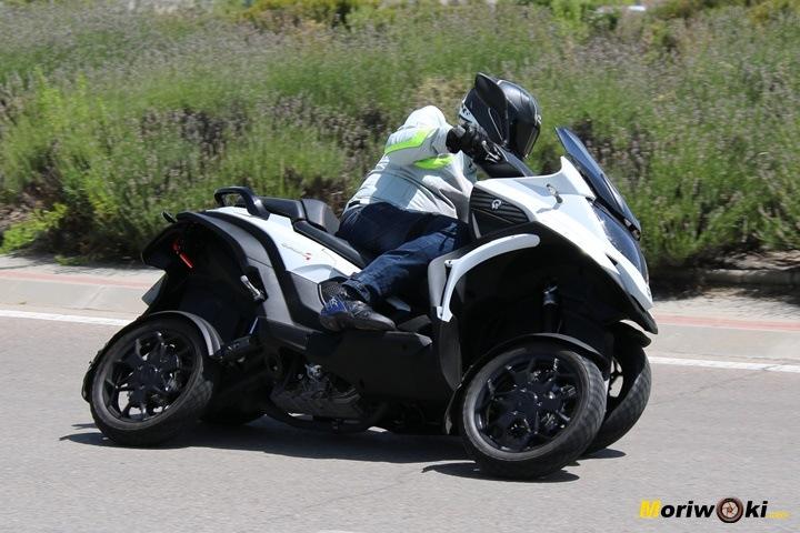 Quadro 4 en los mejores scooters de 3 ruedas.