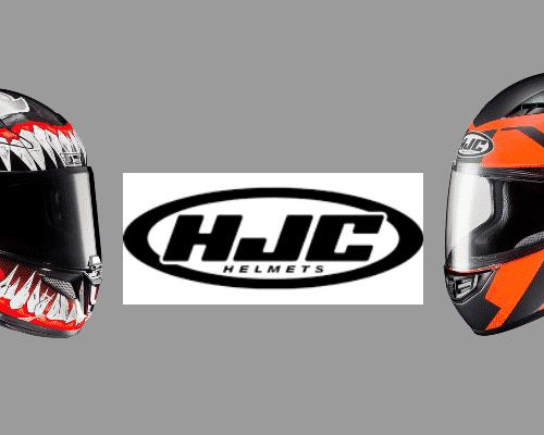 Blanco//Gris//Oroange HJC NC Casco per Moto Hombre M
