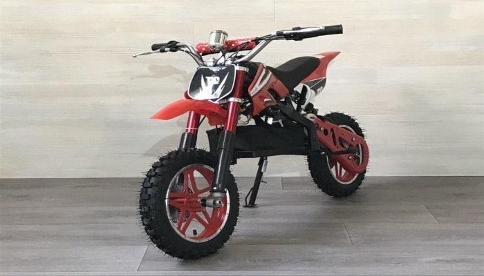 moto roja de segunda mano