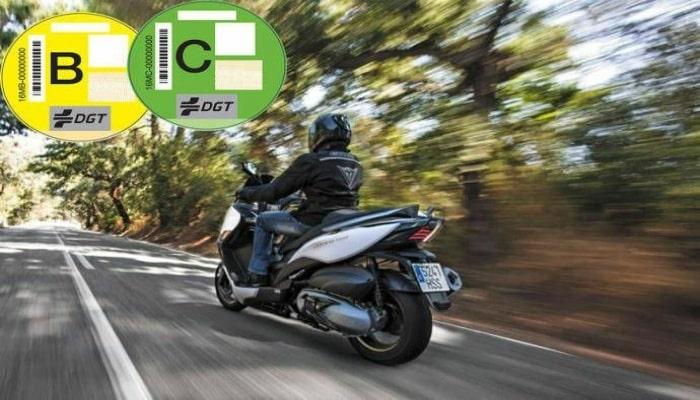 distintivo para moto