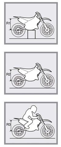 Mediciones SAG en Moto off road.