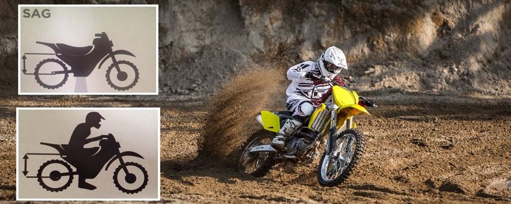 Qué es el SAG de una moto, cómo se mide y cómo se ajusta