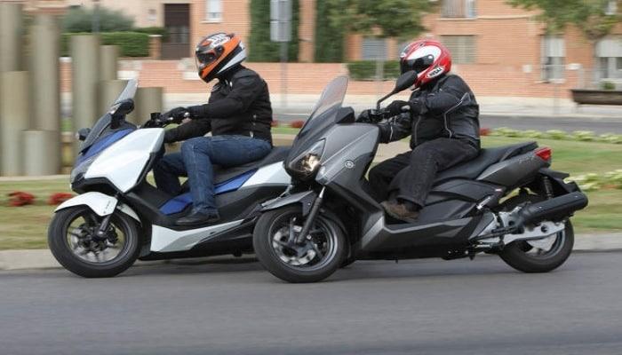 examen dos motos