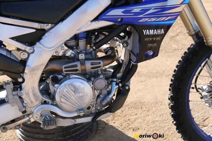 Chasis de la Yamaha YZF250
