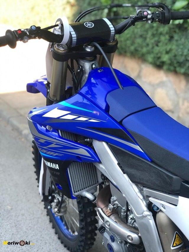 Chasis de la Yamaha YZF450