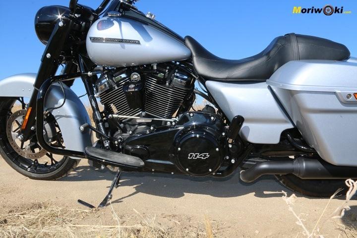 Prueba Harley Road King Special El Look.