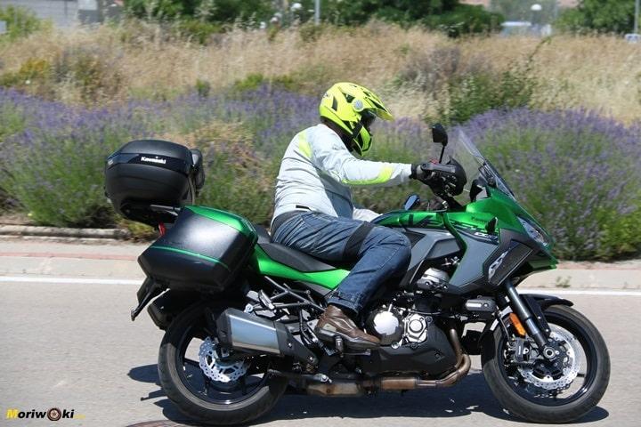 Posición de la Kawasaki Versys 1000SE