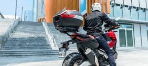 Mejores baúles para motos de 2 cascos