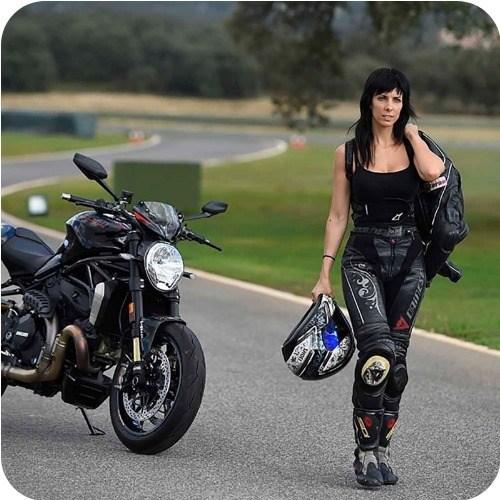 mejores pantalones moto mujer