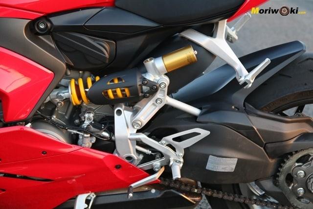 Amortiguador de la Ducati Panigale V2.